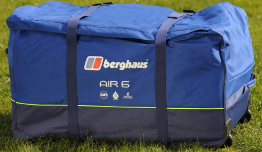 1d174350c7 air 6 carry bag. Of course after I bought it I put the tent up straight  away. I wanted to have a look at our new purchase to see how big it was and  also to ...